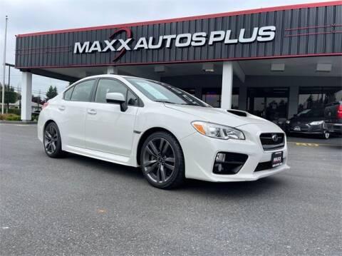 2017 Subaru WRX for sale at Maxx Autos Plus in Puyallup WA