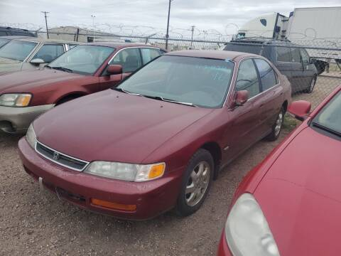 1996 Honda Accord for sale at PYRAMID MOTORS - Fountain Lot in Fountain CO