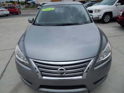 2014 Nissan Sentra for sale at Auto Outlet of Sarasota in Sarasota FL