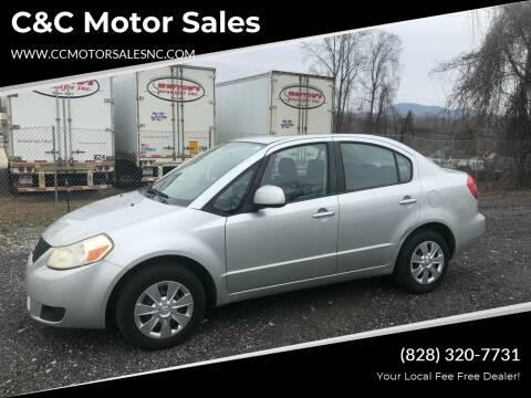 2008 Suzuki SX4 for sale at C&C Motor Sales LLC in Hudson NC