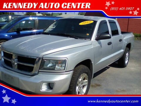 2010 Dodge Dakota for sale at KENNEDY AUTO CENTER in Bradley IL