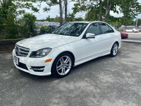 2013 Mercedes-Benz C-Class for sale at ANDONI AUTO SALES in Worcester MA