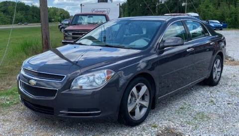 2012 Chevrolet Malibu for sale at Billy Miller Auto Sales in Mount Olive MS
