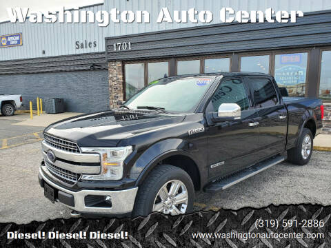 2018 Ford F-150 for sale at Washington Auto Center in Washington IA