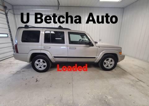 2007 Jeep Commander for sale at Ubetcha Auto in Saint Paul NE