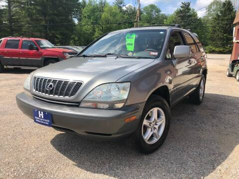 2003 Lexus RX 300 for sale at Hornes Auto Sales LLC in Epping NH
