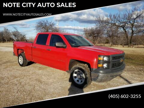 2014 Chevrolet Silverado 1500 for sale at NOTE CITY AUTO SALES in Oklahoma City OK