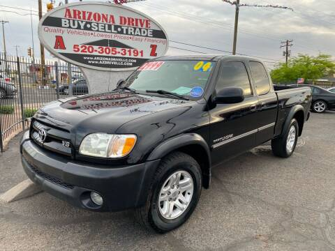 2004 Toyota Tundra for sale at Arizona Drive LLC in Tucson AZ