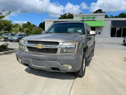 2003 Chevrolet Avalanche for sale at Cross Motor Group in Rock Hill SC
