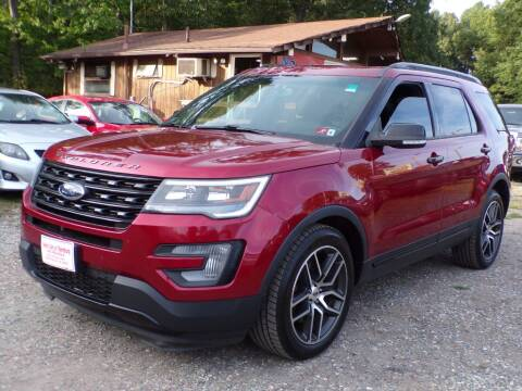 2017 Ford Explorer for sale at Select Cars Of Thornburg in Fredericksburg VA