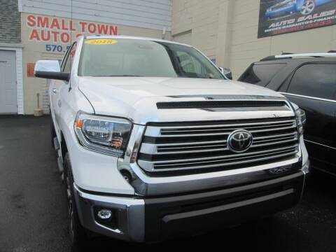 2018 Toyota Tundra for sale at Small Town Auto Sales in Hazleton PA