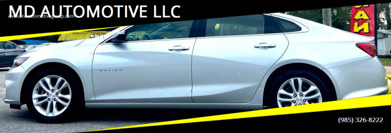 2018 Chevrolet Malibu for sale at MD AUTOMOTIVE LLC in Slidell LA