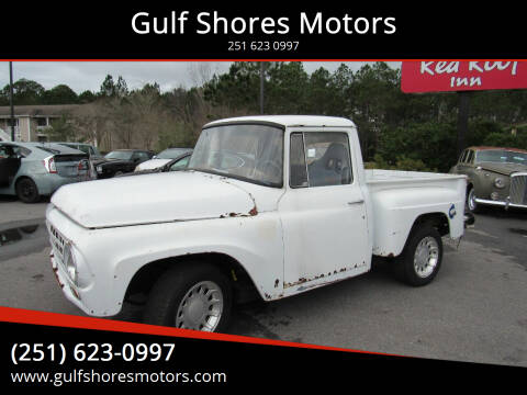 1964 International Pick Up for sale at Gulf Shores Motors in Gulf Shores AL