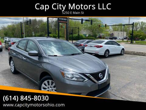 2016 Nissan Sentra for sale at Cap City Motors LLC in Columbus OH