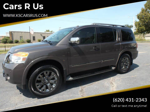 2015 Nissan Armada for sale at Cars R Us in Chanute KS