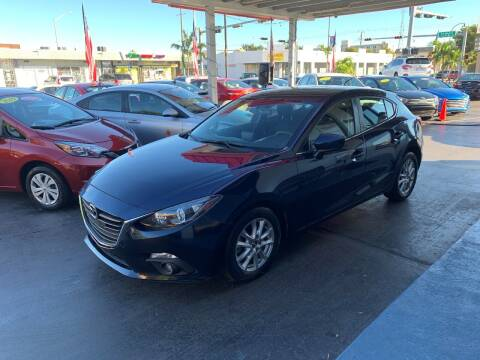 2015 Mazda MAZDA3 for sale at American Auto Sales in Hialeah FL