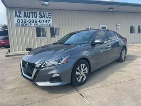 2019 Nissan Altima for sale at AZ Auto Sale in Houston TX