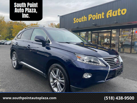 2015 Lexus RX 450h for sale at South Point Auto Plaza, Inc. in Albany NY