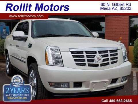 2012 Cadillac Escalade EXT for sale at Rollit Motors in Mesa AZ