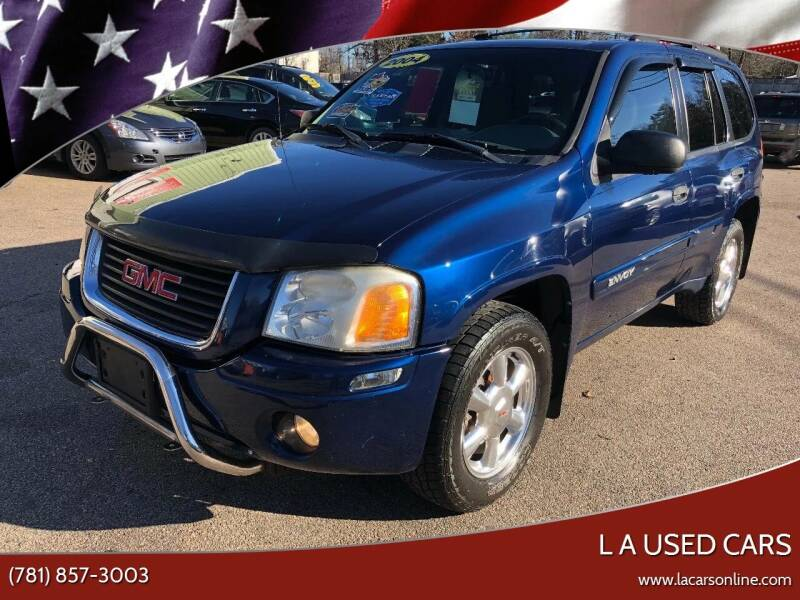 2004 GMC Envoy for sale at L A Used Cars in Abington MA