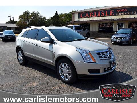 2013 Cadillac SRX for sale at Carlisle Motors in Lubbock TX