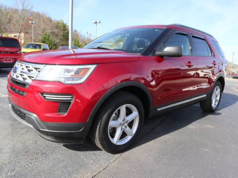 2018 Ford Explorer for sale at RUSTY WALLACE KIA OF KNOXVILLE in Knoxville TN