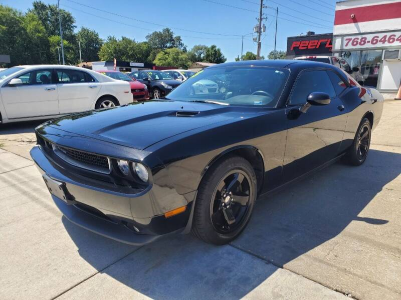 2013 Dodge Challenger for sale at Quallys Auto Sales in Olathe KS