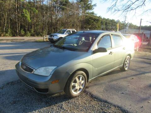 2005 Ford Focus for sale at Bullet Motors Charleston Area in Summerville SC