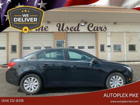 2011 Chevrolet Cruze for sale at Autoplexmkewi in Milwaukee WI