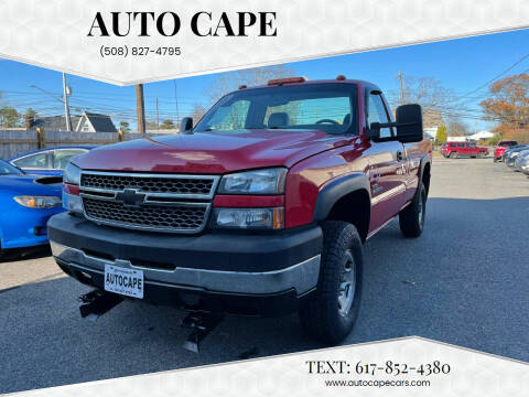 2005 Chevrolet Silverado 2500HD for sale at Auto Cape in Hyannis MA
