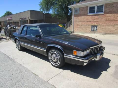1992 Cadillac DeVille for sale at RON'S AUTO SALES INC in Cicero IL