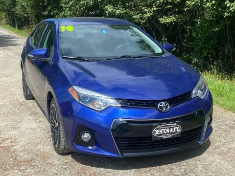 2014 Toyota Corolla for sale at Denton Auto Inc in Craftsbury VT