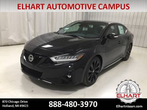 2021 Nissan Maxima for sale at Elhart Automotive Campus in Holland MI