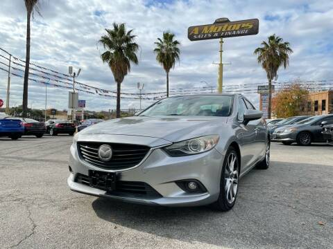 2014 Mazda MAZDA6 for sale at A MOTORS SALES AND FINANCE - 5630 San Pedro Ave in San Antonio TX