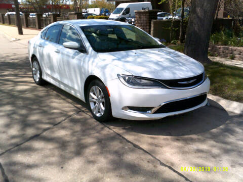 2015 Chrysler 200 for sale at Fred Elias Auto Sales in Center Line MI