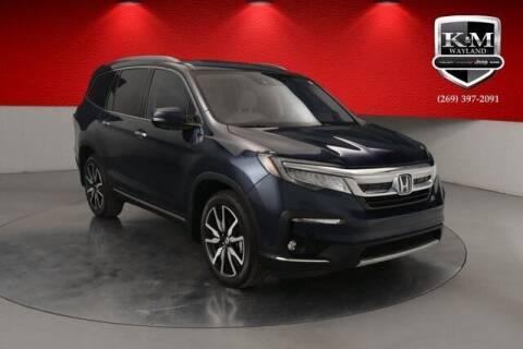 2019 Honda Pilot for sale at K&M Wayland Chrysler  Dodge Jeep Ram in Wayland MI