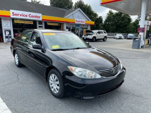 2005 Toyota Camry for sale at Gia Auto Sales in East Wareham MA