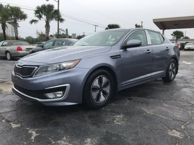 2012 Kia Optima Hybrid for sale at AutoVenture Sales And Rentals in Holly Hill FL