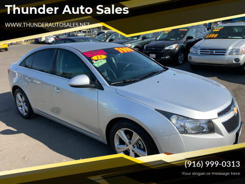 2013 Chevrolet Cruze for sale at Thunder Auto Sales in Sacramento CA