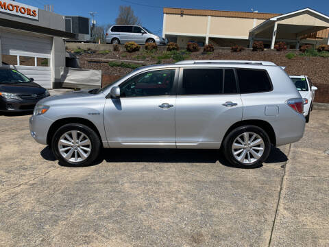 2009 Toyota Highlander Hybrid for sale at State Line Motors in Bristol VA
