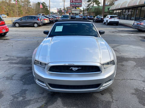 2013 Ford Mustang for sale at J Franklin Auto Sales in Macon GA