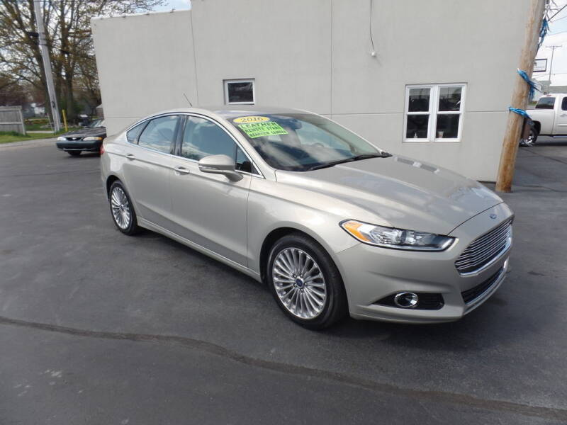 2016 Ford Fusion for sale at DeLong Auto Group in Tipton IN
