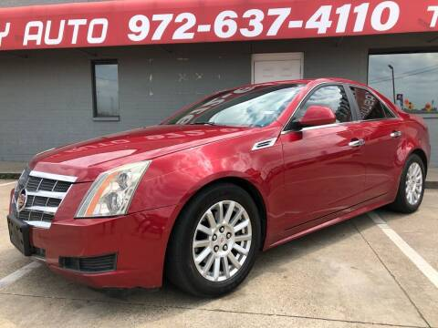 2010 Cadillac CTS for sale at Texas Luxury Auto in Cedar Hill TX