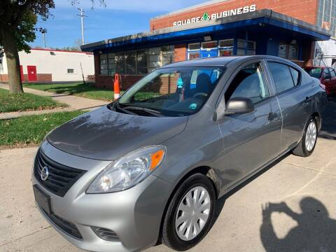 2012 Nissan Versa for sale at Square Business Automotive in Milwaukee WI