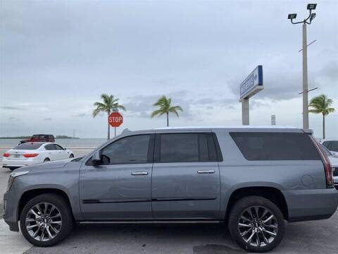 2019 Cadillac Escalade ESV for sale at Niles Sales and Service in Key West FL