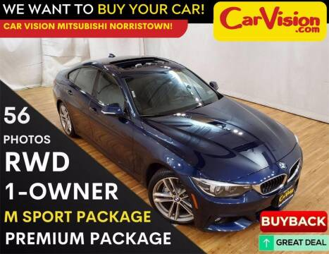2018 BMW 4 Series for sale at Car Vision Mitsubishi Norristown in Trooper PA