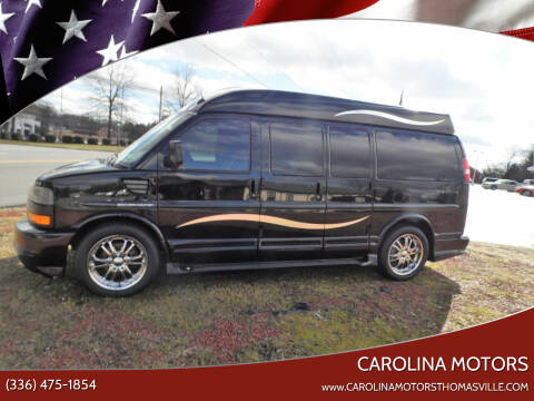 2012 GMC Savana Cargo for sale at CAROLINA MOTORS in Thomasville NC