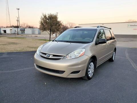 2006 Toyota Sienna for sale at Image Auto Sales in Dallas TX