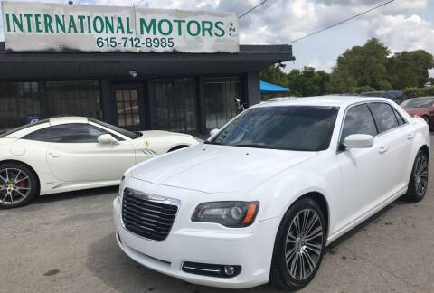 2012 Chrysler 300 for sale at International Motors Inc. in Nashville TN