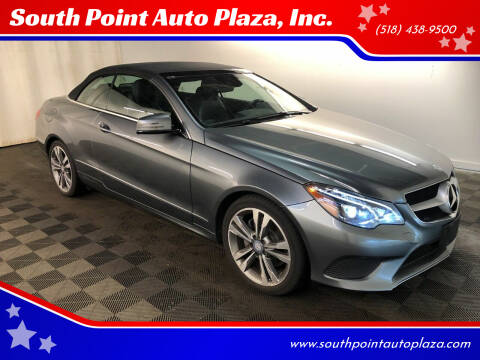 2017 Mercedes-Benz E-Class for sale at South Point Auto Plaza, Inc. in Albany NY